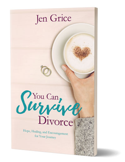 You Can Survive Divorce paperback book cover