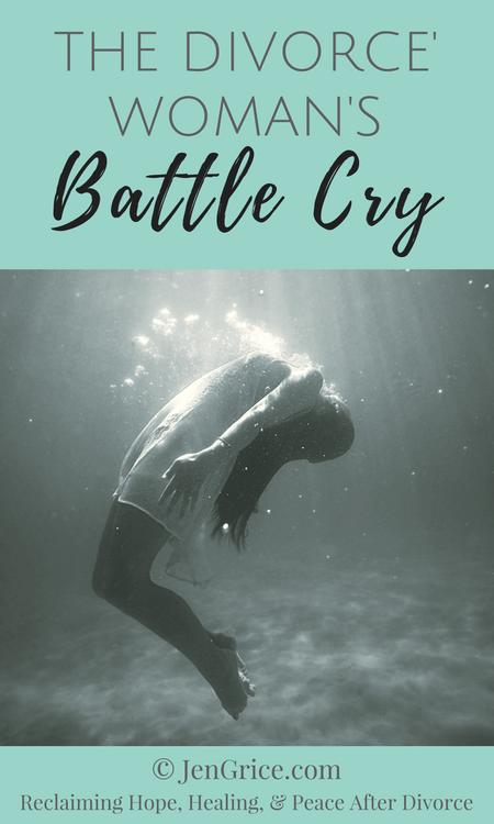 Going through a divorce is not easy, especially an unwanted divorce. Divorced women often cry out but is anyone really listening? This is our battle cry!