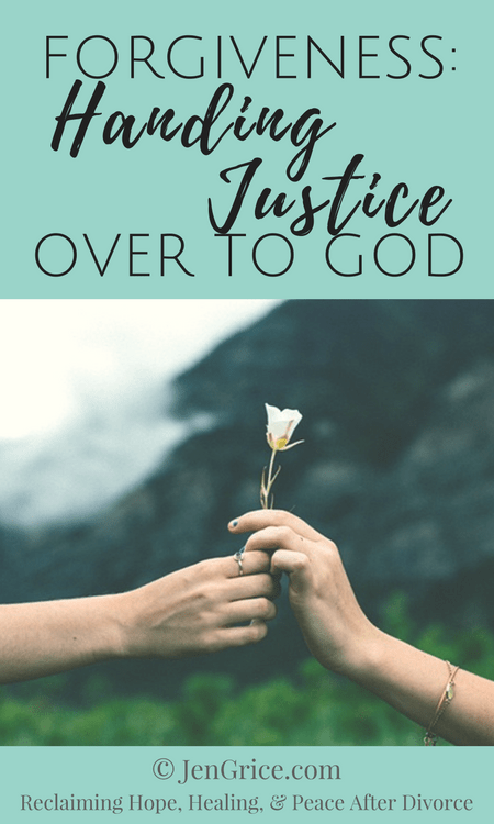 Forgiveness is not a process you do for someone else. Forgiveness is the process of handing over all of your pain and hurt to God, for Him to take care of the judgment. Jesus left things in God's hands (1 Peter 2:23) and so can we. via @msjengrice