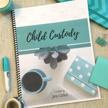 Child Custody Tool Kit (Printable Pack)   By Jen Grice