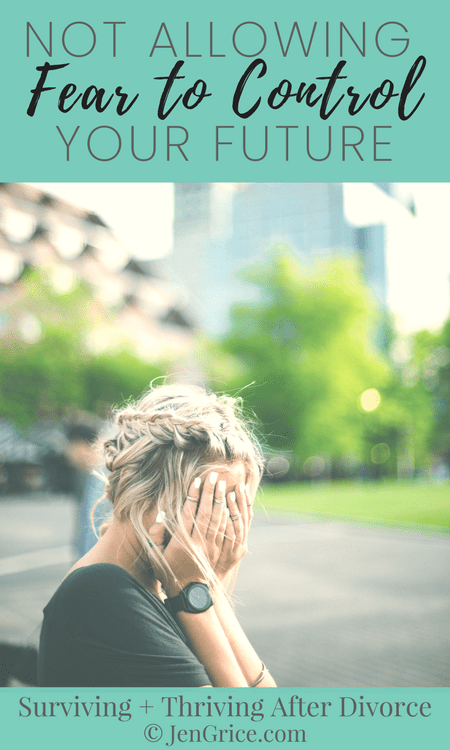 The fear of the unknown kept me trapped in an unhealthy marriage. But when I surrendered everything to God, including if I would divorce, I no longer allowed fear to control my future. I wasn\'t afraid or controlled by the word \