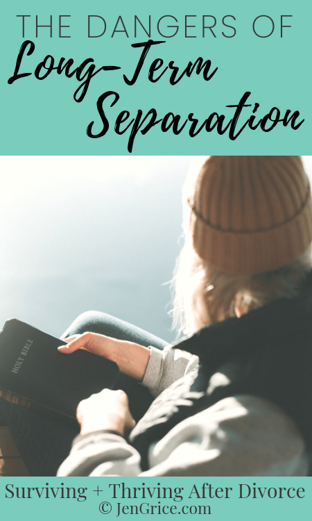 Long-term separation often seems like the best option – with not wanting to divorce, deal with the court, and financially support yourself. But many women face these dangers when choosing to stay married but separated instead of divorcing.