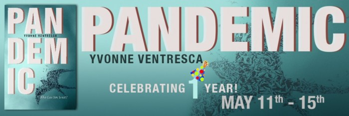 Yvonne Ventresca's PANDEMIC Book Blitz with Giveaway!