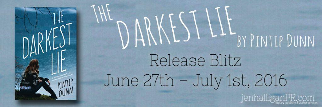 The Darkest Lie Release Blitz | Pintip Dunn | JenHalliganPR.com