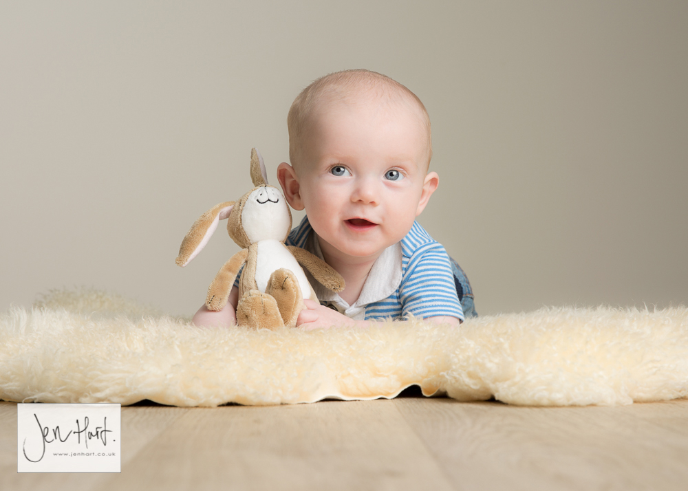 Happy New Year – Baby Photography at 4 months