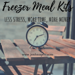 Freezer Meal Kit | September