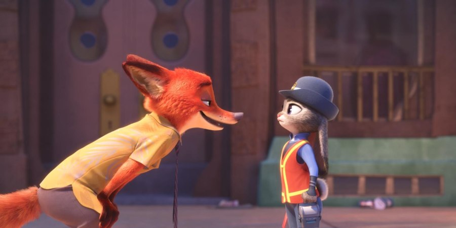 fox and bunny having an argument