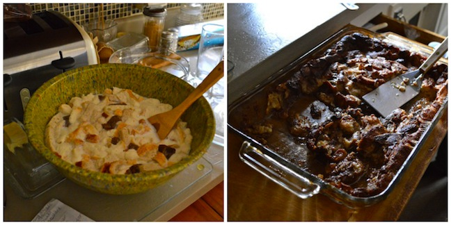 Bread Pudding Collage