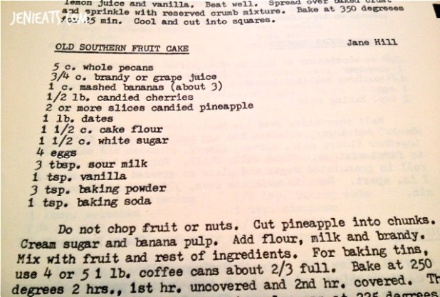 Fruit Cake recipe watermarked