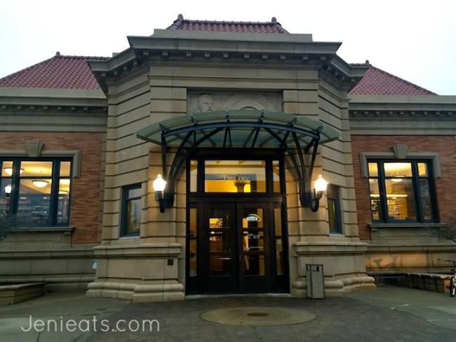 Library exterior wm