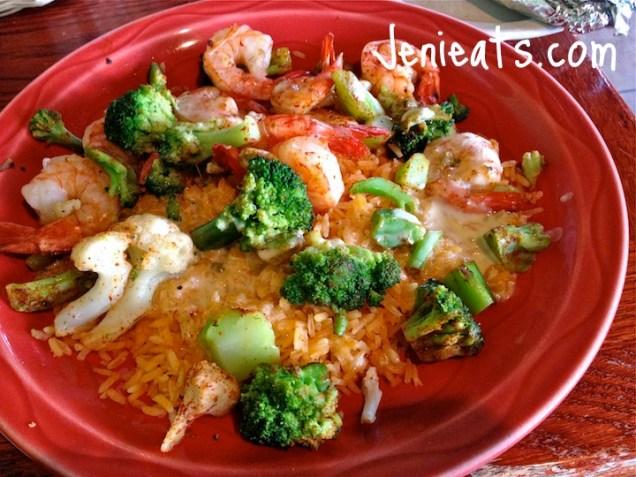Shrimp Broccoli Dish WM