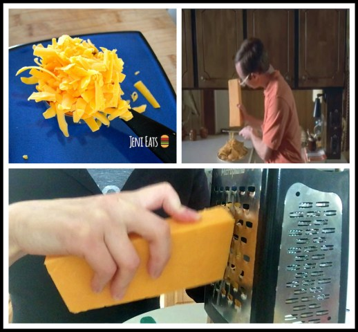cheese grating Collage