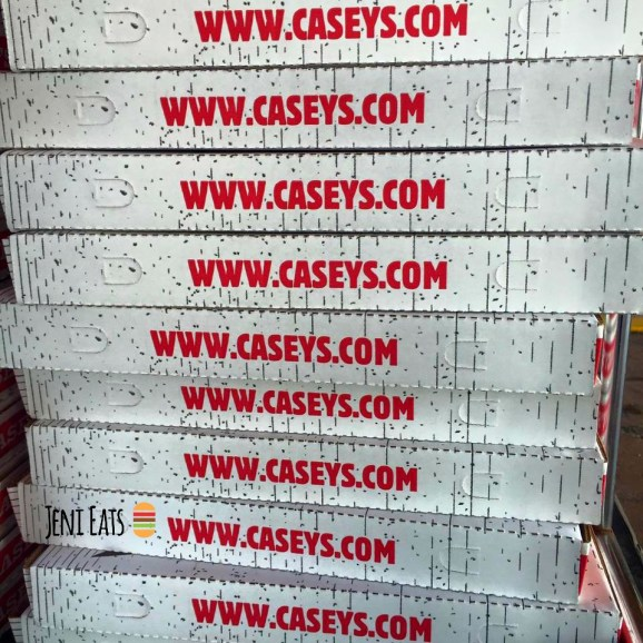 casey's pizza box