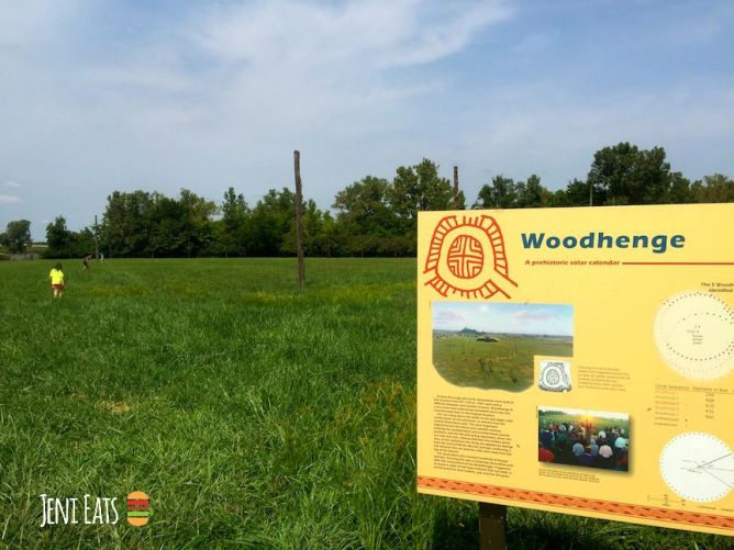 woodhenge sign