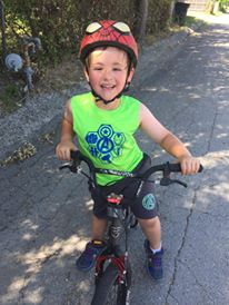 landon bike ride