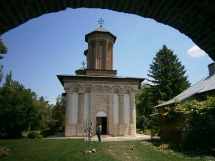 Snagov Monastery, the church