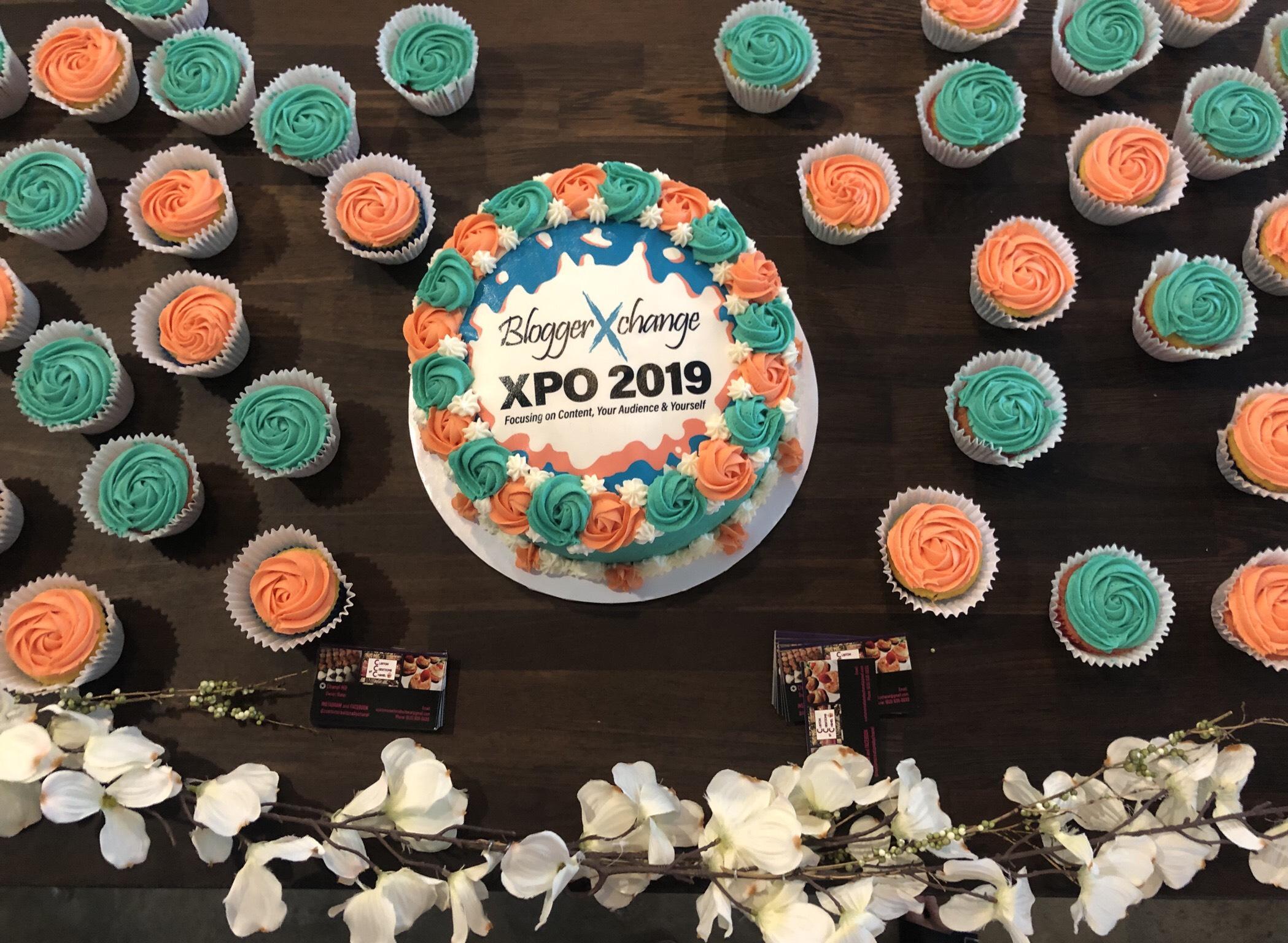BloggerXPO_cake