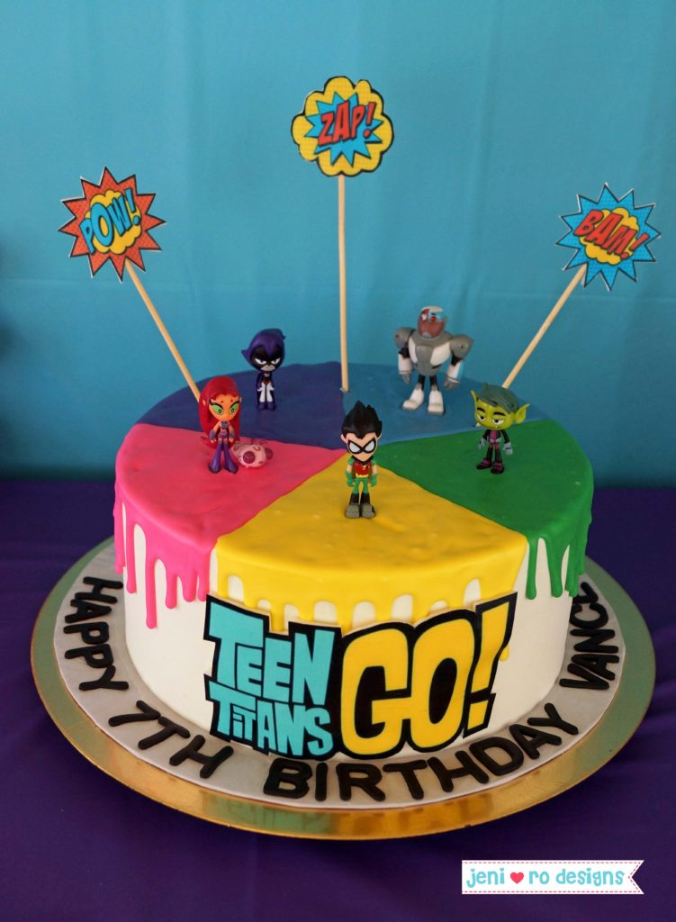 Teen Titans Go 7th Birthday Bash