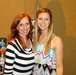 Senior Taylor Seacat and her mother, Kathy.