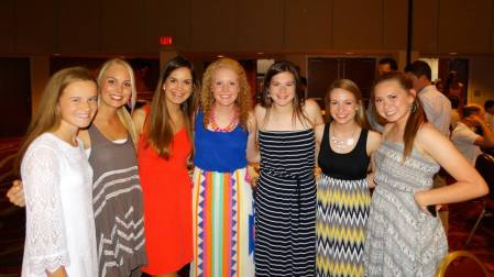 The sophomores of our Jenks Lady Trojan team!