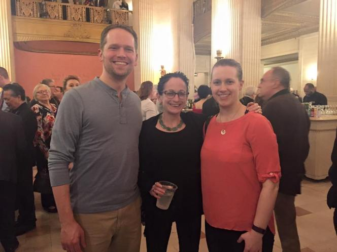 Ran into friend and Artist Manager Kristen Cowdin at a Lyric performance!