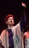 As Reuben in Joseph and the Amazing Technicolor Dreamcoat
