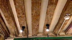 Exposed Wood Beam Ceiling