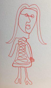 "6"" x 6""Pen & Ink on Strathmore Bristol Board Artist Tiles"