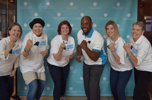 Former Carolina Panthers Player Vows to Support Lung Cancer Survivors