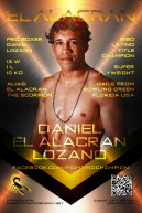 JENMEDIA / WORKS / GRAPHIC DESIGN / FIGHTER BRANDING PR / PRO BOXING / DANIEL EL ALACRAN LOZANO