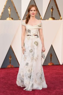 Isla Fisher vestindo Marchesa.