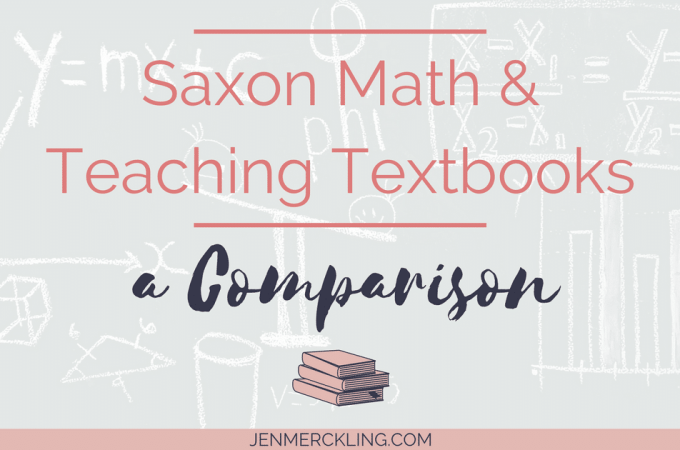 Why I switched Homeschool Math Curriculum! Compare Saxon Math and Teaching Textbooks!