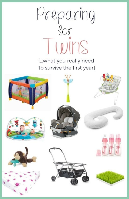 Preparing for twins raises a lot of questions when it comes to what you really need. I've prepared a list of 11 must have items for newborn twins to help!