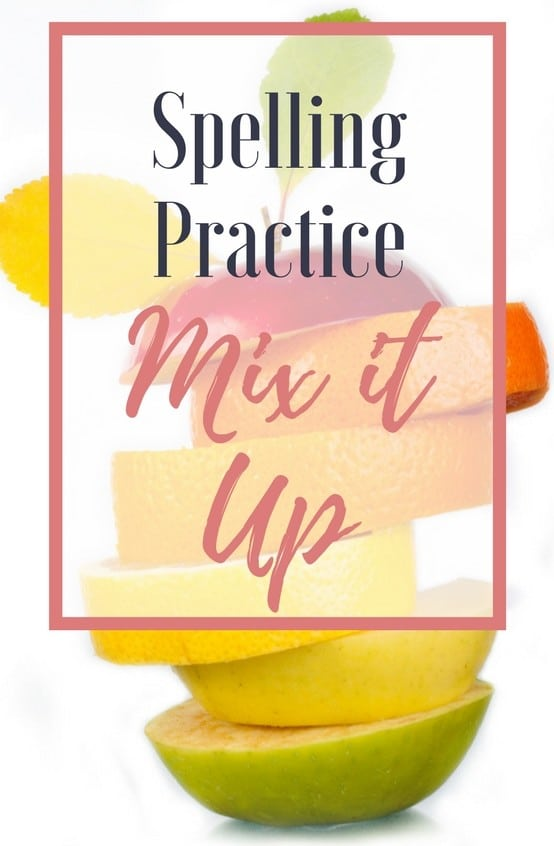 Getting our kids to practice spelling words—sometimes it feels like pulling teeth. We know spelling practice has to happen, but it doesn't have to be busy work! I'm sharing 4 strategies to spice up your spelling routine!