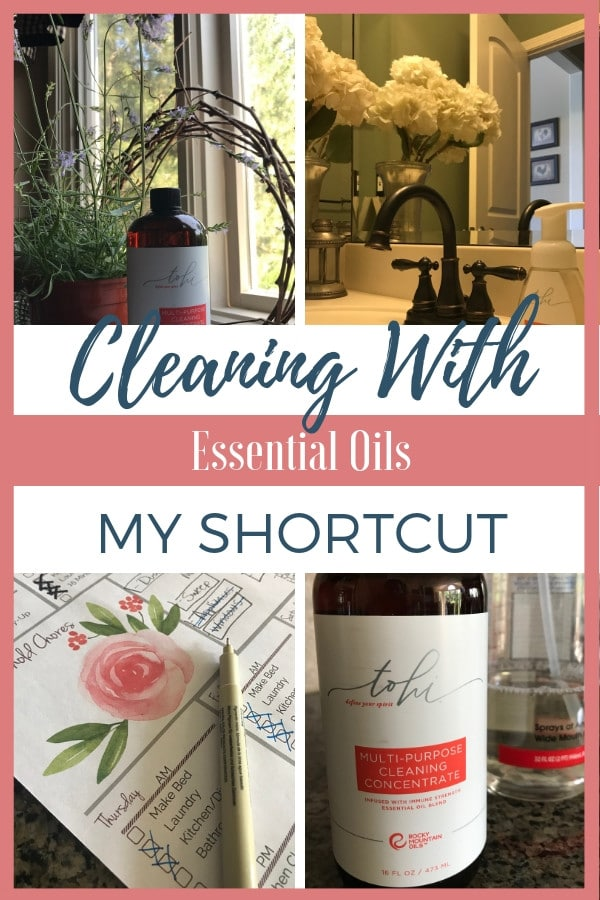 Tohi essential oil cleaner