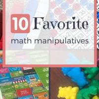 Top 10 Favorite Math Manipulatives
