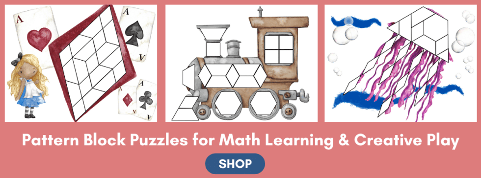 Pattern Block Puzzles Math Manipulatives