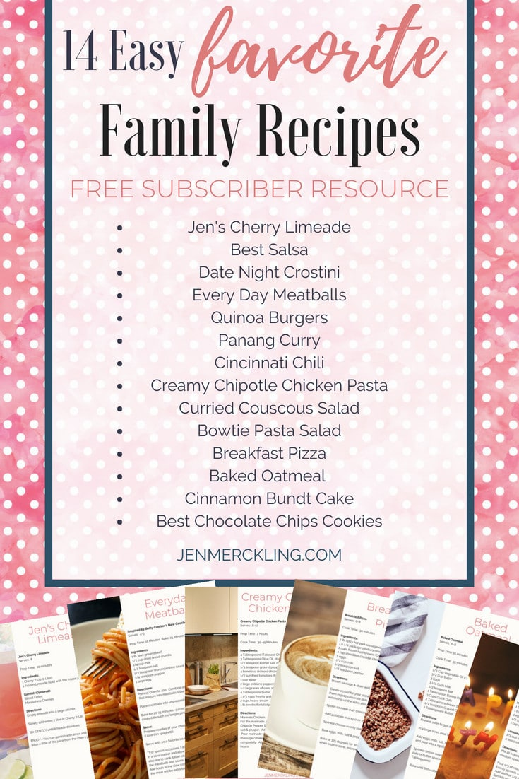 Sharing my favorite easy family recipes that make every day special! These are 14 of my Go-To recipes, perfect for weeknights or special occasions! #easyrecipes #familyrecipes