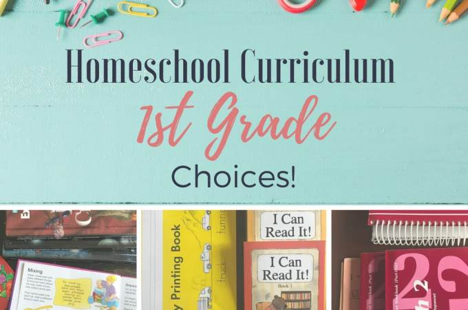 I love learning what curriculum other homeschool families are using with their kids! Here's a peek into what I'm using with with my 1st grade son (and why)!