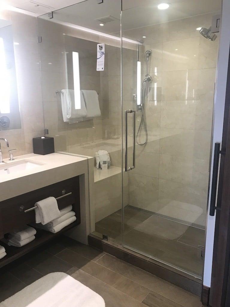 Guest Bathroom at JW Marriott Marco Island Beach Resort
