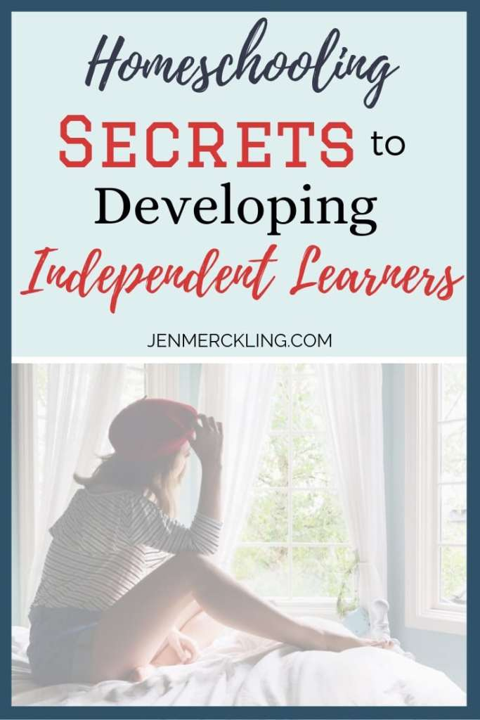Homeschooling Secrets to Developing Independent Learners with independent teen looking out window