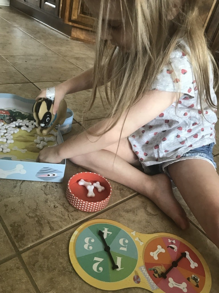 Girl playing Shelby Snack Shack Game