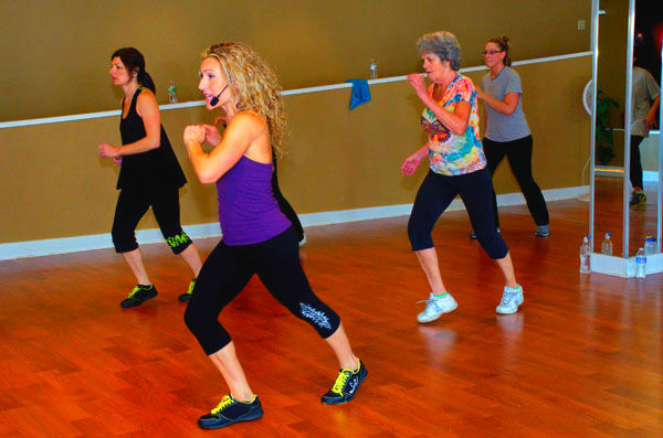 Zumba gets your heart pumping!
