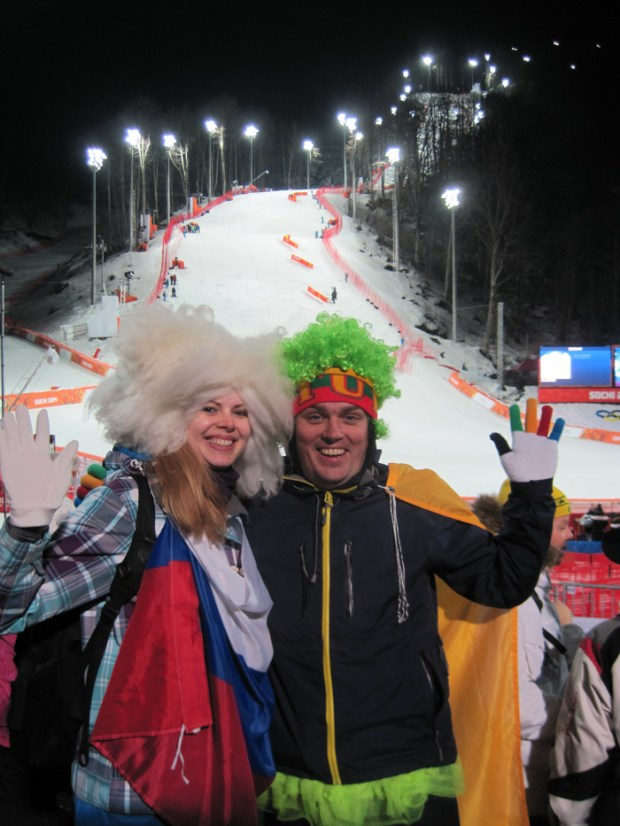 Could this be Olympic love?