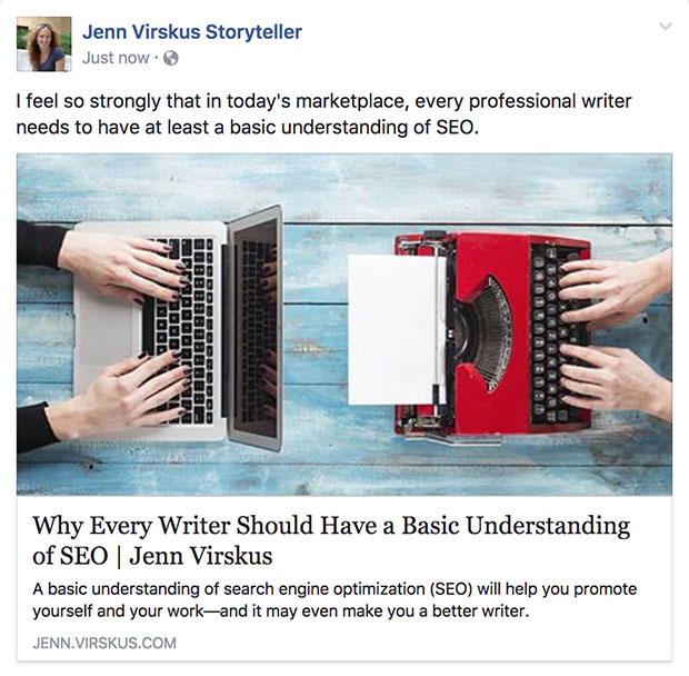 A basic understanding of SEO will help writers promote their work