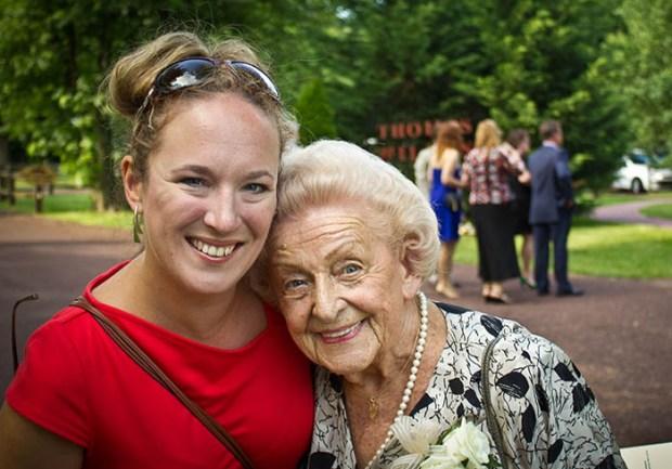 Her novel is inspired by her Grandmother Klara's story.