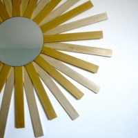 Weekend Project- DIY Sunburst Mirror (for ~$10 at that!)