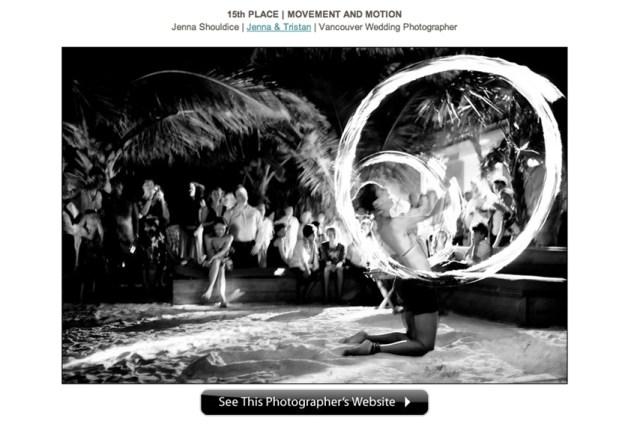 Destination Wedding Photography Award