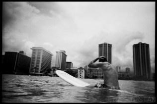 Waikiki Surfing Beach Photography