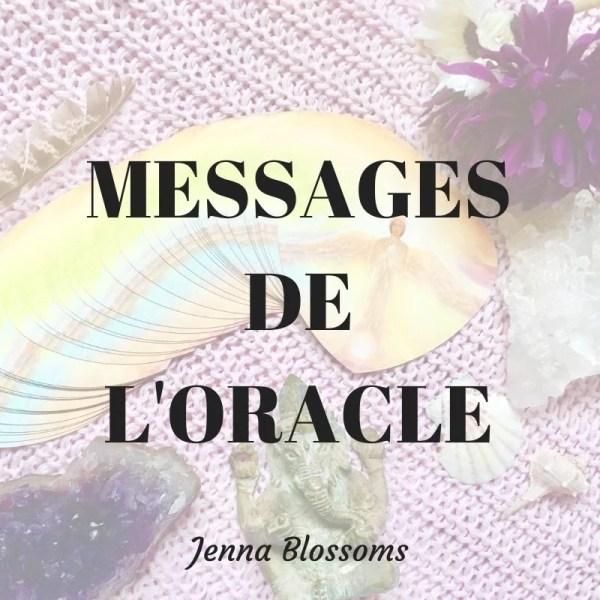 messages de l'oracle formation jenna blossoms